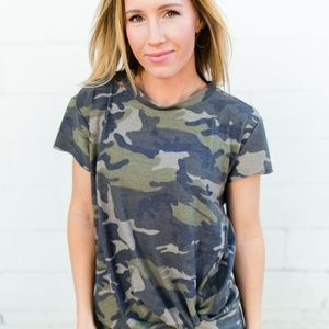 Tops - Can't See Me Camo Top